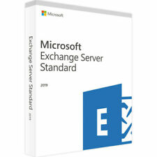 Microsoft Exchange Server 2016 Standard W/ 5 Cals Full Retail License FPP