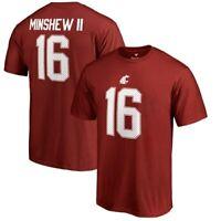 Fanatics Branded Gardner Minshew Washington State Cougars Crimson College