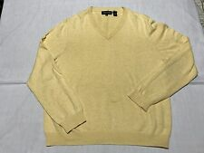 David Jones Cotton Pullover Medium Yellow