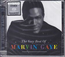 """""""Marvin Gaye - The Very Best Of"""" Japan Limited Numbered Hybrid SACD CD New"""