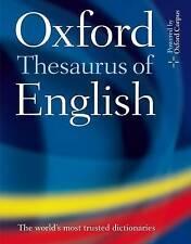 Oxford Thesaurus of English by Oxford University Press (Hardback, 2009)