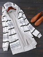 CHEAP Women Thick Hooded Knitted Cardigan Sweater Outwear Jacket Warm Coat Tops