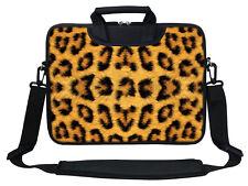 "12"" Laptop Computer Sleeve Bag with 2 Top Pockets & Shoulder Strap Handle  2700"