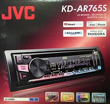 NEW JVC KD-AR765S Single Din In-Dash CD/AM/FM Car Stereo Receiver w/ USB & AUX