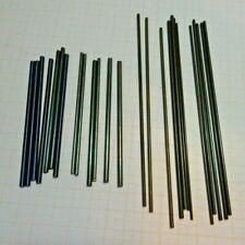 Bastler Lot mit Tampon Stahl verschiedene Längen,Durchmesser,ältere Lagerware...