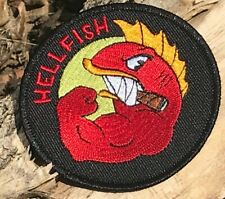 Tactical Morale Patch - The Flying Hellfish Hook and Loop