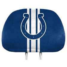 Indianapolis Colts Printed Head Rest Covers