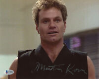 MARTIN KOVE SIGNED AUTOGRAPHED 8x10 PHOTO JOHN COBRA KAI KARATE KID BECKETT BAS