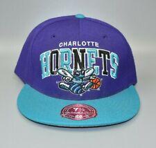Charlotte Hornets Mitchell & Ness NBA Hardwood Classics Men's Fitted Cap Hat