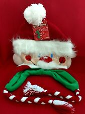 Ho-Ho Holiday  Unisex  Knit Hat, Santa Claus with pom pom. NEW with tag.