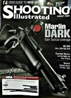 NRA SHOOTING ILLUSTRATED AUGUST 2020 Issue-Marlin Dark Tactical-Free Ship-New