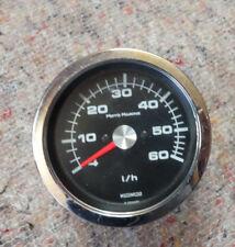 Motometer Moto Marine Segel Boot Instrumente Kubikmeter Liter Volumen l/h