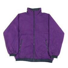 Vintage Revesible Fleece Jacket | Coat Retro 90s Bomber Zip
