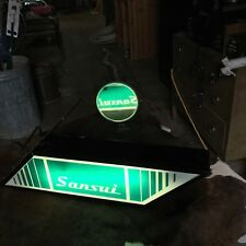 sansui light dealer sign for your g9000 9090 au9500 sr929 g22000 double sided !