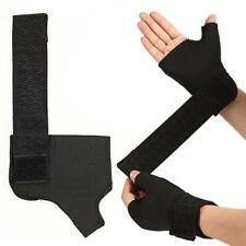 1 Pair Hand Palm Wrist Thumb Glove Brace Bandage Wrap Support Elasticated I7X3