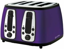 Russell Hobbs Royal Purple Heritage Toaster RHT24PUR 2 & 4 Slice - LIMITED STOCK