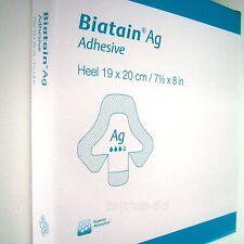 Biatain Ag Coloplast 2St. Adhesive 19x20 cm/7,5x8 in, Schaumverband für Ferse