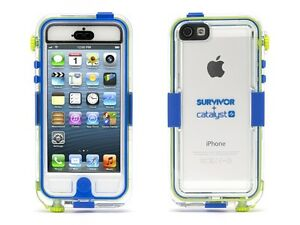Griffin Survivor Waterproof and Catalyst for iPhone 5  Retail Packaging - Blue