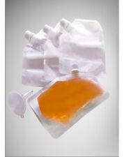 Smuggle Your Booze 4 oz. Soft Hidden Flask with Funnel 4 Pack Boob Pocket Secret