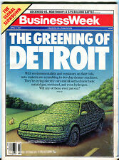 Business Week Magazine April 8 1991 The Greening of Detroit VGEX 020416jhe