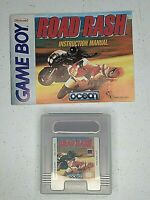 Road Rash for Nintendo Game Boy Color, Advance & SP With Instruction Manual