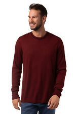 GILDED AGE Jumper Size L Brown Thin Knit Crew Neck