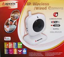 Apexis W-LAN IP Kamera IR filter Alarmen Bewegungsdetektion Bilder Cmos Sensor