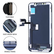 "For iPhone X 5.8"" Display LCD Touch Screen Digitizer Assembly Replacement Black"