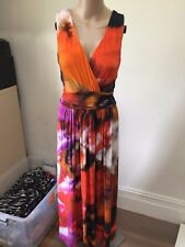 SZ 14 VERONIKA MAINE MAXI DRESS  *BUY FIVE OR MORE ITEMS GET FREE POST