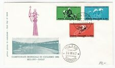 1962 Italy FDC first day cover World Cycling Championship HCV L 300 stamp Milano