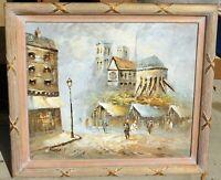 Caroline Burnett, 1877-1950 noted artist, oil/canvas 20 x 24