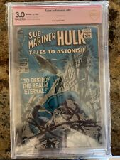Tales to Astonish #98 CBCS Not CGC  - Verified Herb Trimpe Signature!!