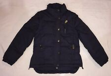 Navy Down Filled Equestrian Riding Jacket 7-8 Years