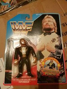 vintage WWF The Million Dollar Man Ted Dibiase 1990 in pkg