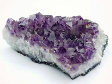 AM38) Amethyst Geode Large Crystal Quartz Cluster Brazil Great Gift