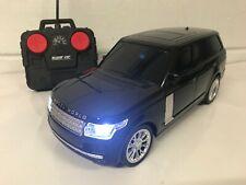 RANGE SPORTS RADIO REMOTE CONTROL CAR LED LIGHTS 1/16 Black BOXED