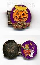 Disney TDL Halloween Pooh Bear & Piglet Hinged Pin