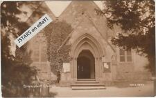 c. 1910s BRAMSHOTT, HAMPSHIRE, CHURCH POSTCARD RPPC