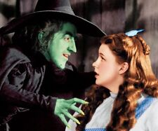 WIZARD OF OZ THE WICKED  WITCH AND DOROTHY 8X10