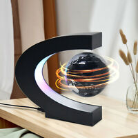 Floating Magnetic Earth Levitation Globe with LED Lights World Map Ball