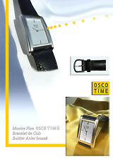 Oblong Watch osco-time Attractive Style Form Unisex Watch