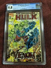 INCREDIBLE HULK VS VENOM 1 CGC 9.8 (1994) Marvel Red Foil Cover White Pages