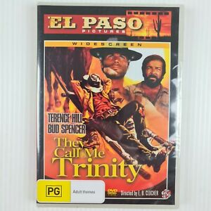 They Call Me Trinity DVD - All Regions NTSC - NEW & SEALED - TRACKED POST