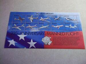 SAMOA POSTAGE STAMPS Scott 591 OG Never Hinged - Flight, Airplanes, Jets