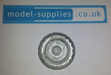 Dinky 300 301 Reproduction Cast White Metal Rear Wheel Massey / Field Marshall