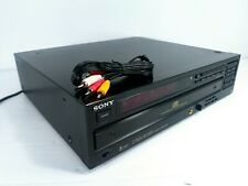 Sony CDP-C75ES 5 Disc player carousel. No remote tested