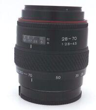 Tokina AF 28-70mm f2.8-4.5 Lens 28-70/2.8-4.5 Minolta Sony