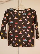 Take Two Women's Embelished Top S Cats & Dogs