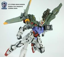 Poison Toys 1/72 Strike Gear Gundam Launcher Cannon Weapon Accessories Set