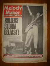 MELODY MAKER 1976 JAN 3 BAY CITY ROLLERS ALEX HARVEY